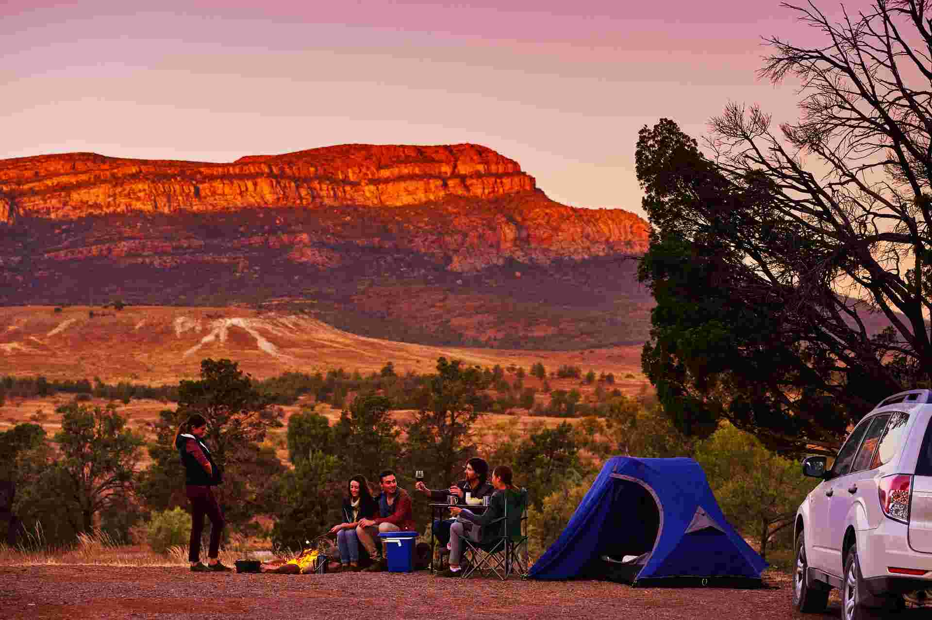 Explorer's way road trip: Explore the Flinders Ranges and outback