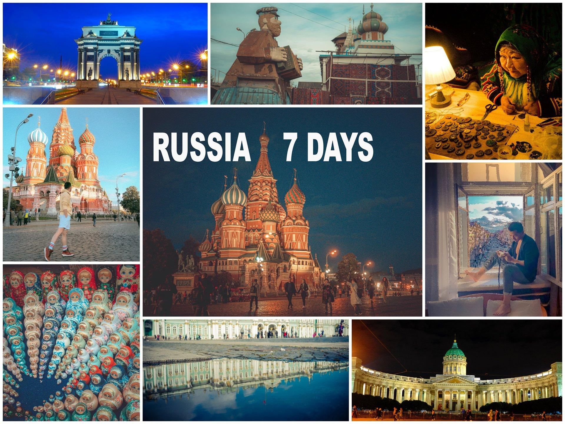 Moscow  - Saint Petersburg Thumbnail