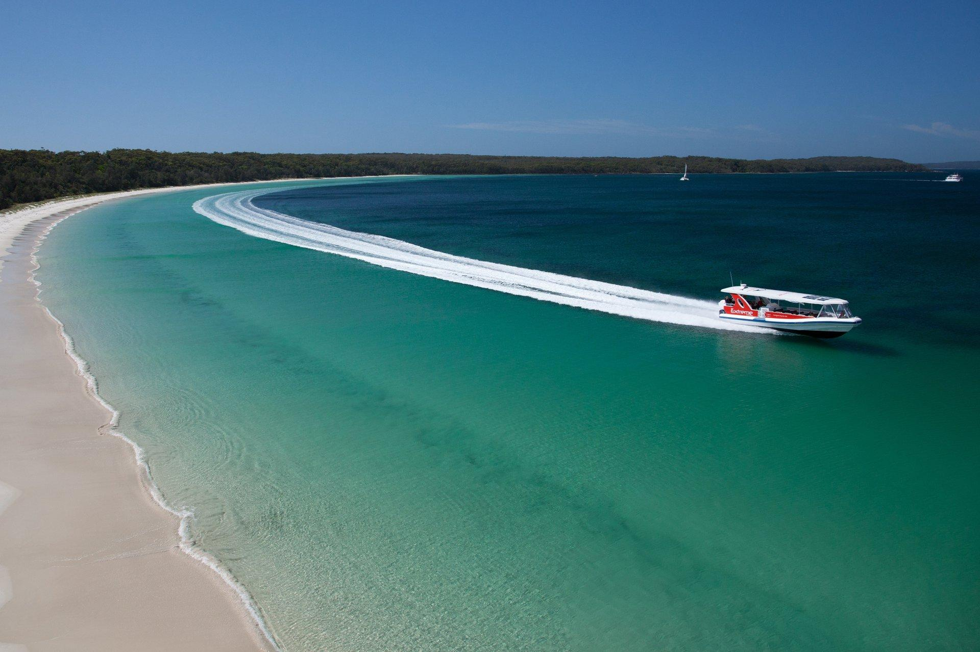 Jervis Bay: home to a myriad of clear waters & white sand beaches. Thumbnail